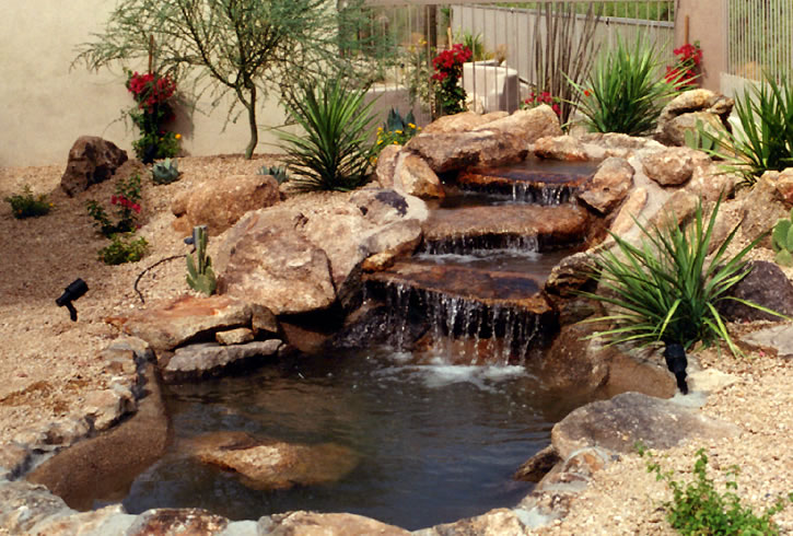 Natural Looking Water Feature Pond